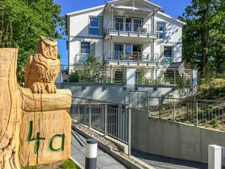 Villa Düne 4 F664 | WG 1 Dünengarten im Erdgeschoss Villa Düne 4 im Ostseebad Binz