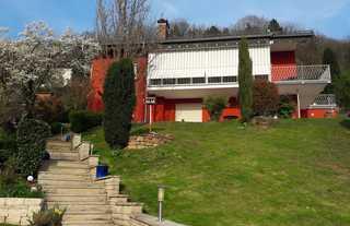 Ferienwohnung Casa Rossa Hausansicht