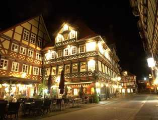 Fachwerk-Hotel Eisenbart Außenansicht