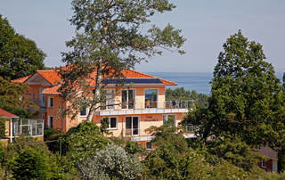 Villa Ostseeblick 5* mit Meer- und Boddenblick