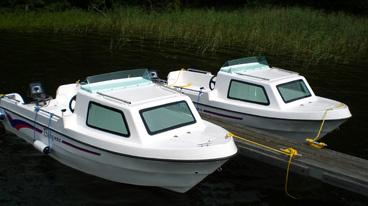 Kajütboot Typ Baby für max. 4 Personen