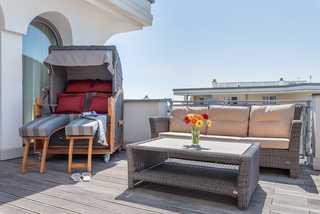 Villa Deichgraf WE 22 Penthouse Wohnung Dachterrasse