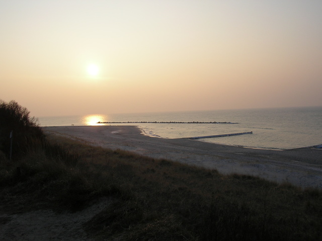 Sonneuntergang an der Ostsee