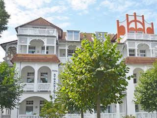 Villa Strandidyll -F631 | WG 07 im 1.OG mit Meerblick Villa Strandidyll im Ostseebad Binz - Hausansicht