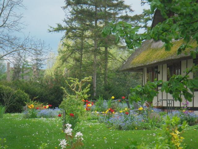 Töpperhusgarten im Frühling