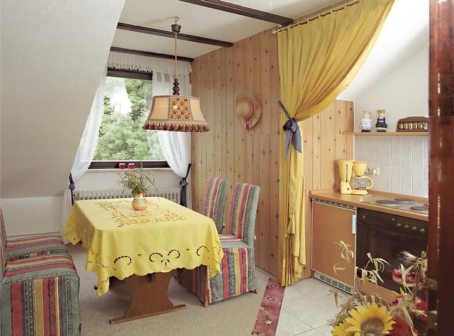 """Appartement """"Wilde Sau"""" Eß- und Küchenbereich"""
