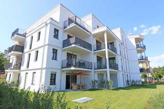 F: Villa Düne Whg. 14 mit Balkon/Meerblick & Sauna Villa Düne