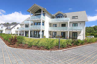 MZ: Haus Windrose Whg 01 Seehase mit Terrasse/Balkon Objektansicht