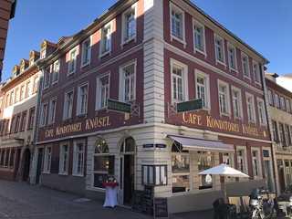 Cafés & Hotel Knösel Aussenansicht Cafe&Restaurant, Hotelzimmer im 1...