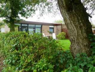 Ferienhaus Taddigshörn 256 Gartenseite