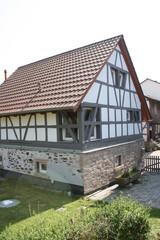 Ferienhaus Ostertal Ein echtes Odenwälder Fachwerkhaus