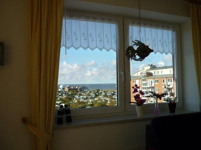 Seesicht von der Terrasse Wohn- und Schlafzimmer