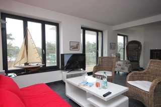 Ferienwohnung 101RB0, Haus Verando Wohnbereich mit Schlafsofa