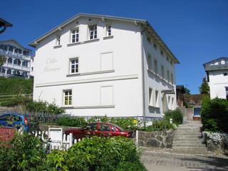 Villa Monique in Alt-Sassnitz Außenansicht