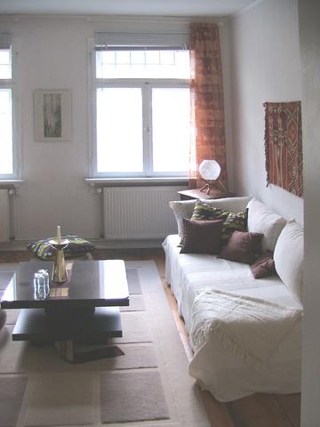 """Wohnbereich """"Afrikazimmer"""" rechts"""