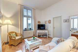 Bansin - Villa Frieda, Wohnung 2 Wohnzimmer