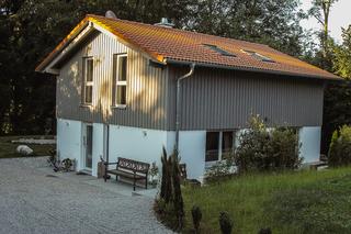 Ferienhaus Tegernsee Chalet Eingang Chalet