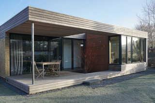 Design FeWo nienrausch Apartment 1 Gartenansicht