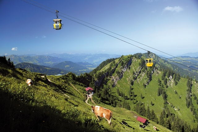 Hochgratbahn - Bildquelle Oberstaufen-Tourismus