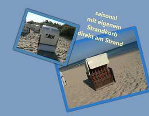 Zempin Ostseepark WE 14 **Insel Usedom**150m zum Strand** saisonal mit Strandkorb direkt am Strand