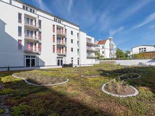 Residenz Bel Vital 36 im Ostseebad Binz auf Rügen Ansicht hinten
