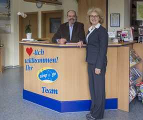sleep & go Hotel Magdeburg GmbH Ein freundlicher Empfang
