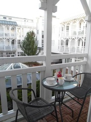 Lütte Stuv Haus Having WE 301-SE KL Frühstück auf dem Balkon