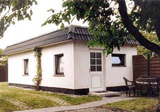 Ferienhaus Karger Fassade / Eingang