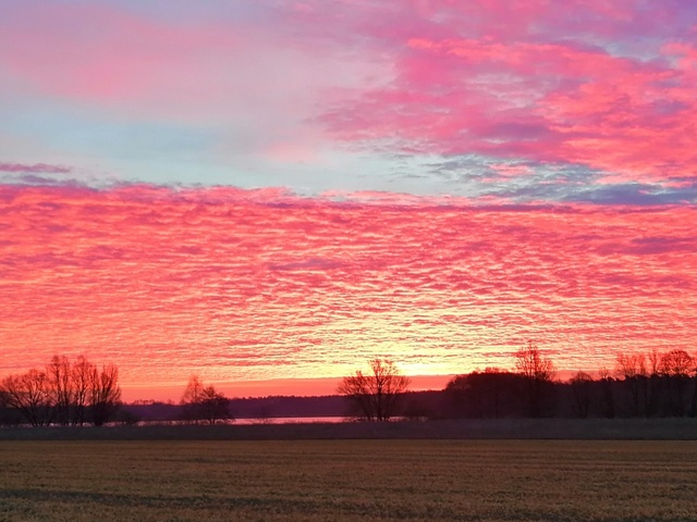 Himmel am Morgen