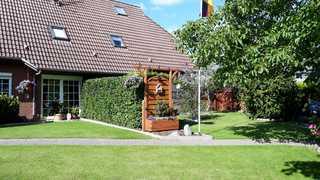 Ferienwohnungen Nordseewolke Gartenansicht
