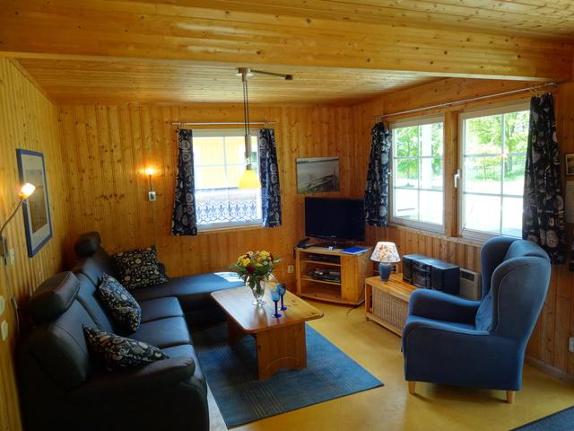 Villa Blau: Blick Ins Wohnzimmer