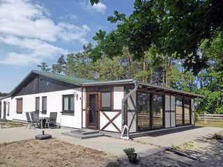 Ferienhaus am Waldessaum Außenansicht