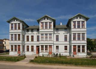 (Brise) Villa Autorenhaus Wilhelmshoe Ansicht von der Neuen Dünenstraße