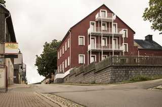 Apartments Fichtelberger Blick Haus von der Brauhausstraße