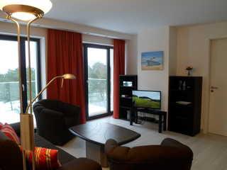 Strandresidenz-Appartement Austernfischer V25 in Prora Wohnbereich