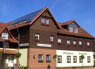 Pension Königshof Außenansicht