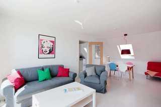 Ferienwohnung 211RB16, Haus Rabe Wohnbereich