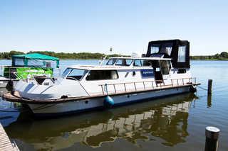 Hausboot Katamaran-Motoryacht Außenansicht Hausboot