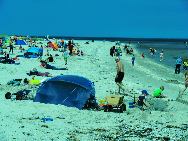 Sommer, Sonne, Strand und Meer