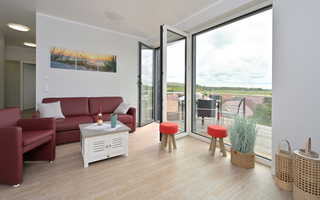 BoddenPanorama Wohnbereich mit Balkon