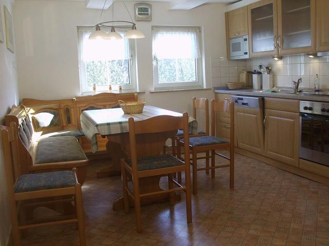 Wohnküche im Obergeschoß