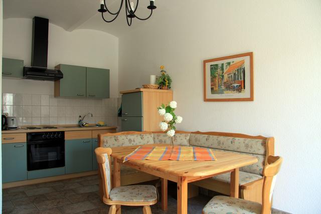 große Ferienwohnung, Küche