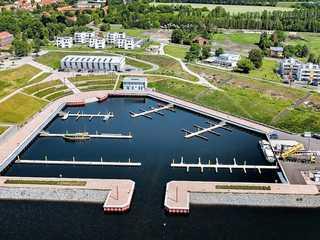 Ferienwohnung Penthaus ILSE Großräschen mit Wohnpark Hafenkante