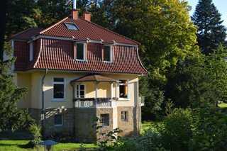 Ferienwohnung Blaues Schaf Tecklenburg Hausansicht