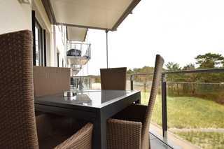 Domizil am Meer / Haus Arkona Sitzbereich mit Blick zum Ostseestrand