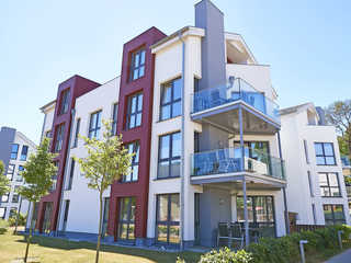 Strandvilla Baabe F 635 WG 26 mit 2 Balkonen Die Strandvilla Baabe im Ostseebad Baabe