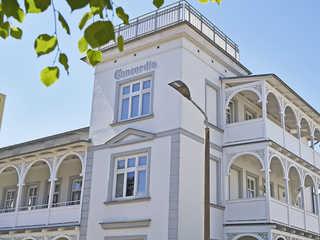 "Villa Concordia F655 WG 01 ""Lohme"" mit großer Veranda Die Villa Concordia im Ostseebad Binz - Hausan..."