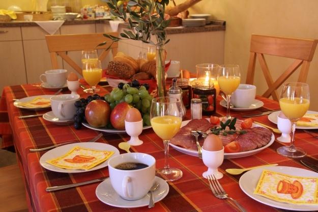 Frühstück im Wassermann