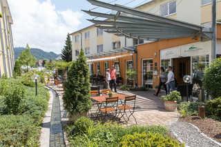 Schwarzwaldhotel Gengenbach Innenhof / Hoteleingang Schwarzwaldhotel Gengen...