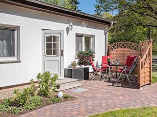 Ferienhäuser Bauerschäfer mit Terrasse Bungalow 2 für 2 Personen